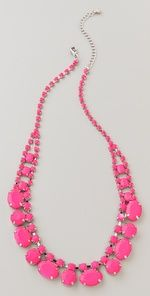 Adia Kibur Short Neon Stone Necklace | SHOPBOP - LOVE LOVE LOVE