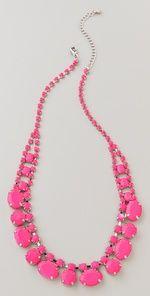 Adia Kibur Short Neon Stone Necklace | SHOPBOP - LOVE LOVE LOVE