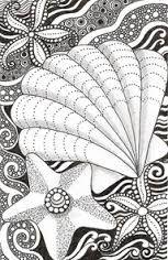 zentangle shells - Google zoeken