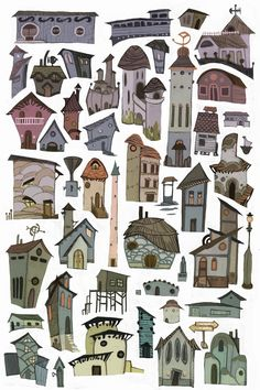 Buildings by ~redredundance on deviantART:
