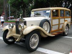 1929 Rolls Royce 20HP Shooting Brake Wagon Woody