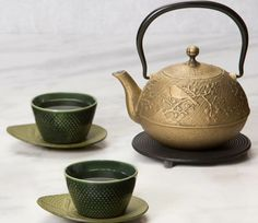 The best cups come from a seasoned teapot.