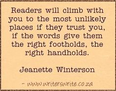 Quotable - Jeanette Winterson - Writers Write