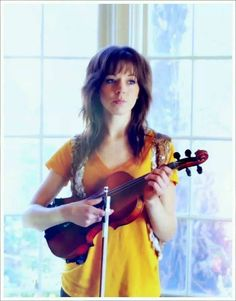 Lindsey Stirling - She is AWESOME! I highly recommend checking her out on youtube! Seriously! She rocks!