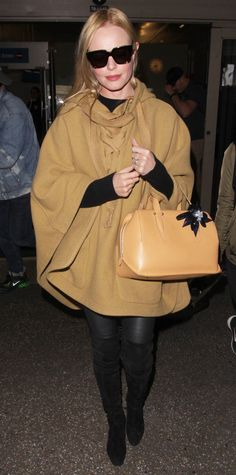 Celebrity-Inspired Outfits to Wear on a Plane - Kate Bosworth from InStyle.com