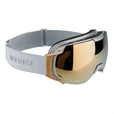 Bogner Snow Goggles Just B Gold in Silver