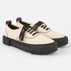 best service f945f 244f4 Eytys Viper Canvas Sneaker - Ecru (Image 1) Plattform Sneakers, Skor, Löpare