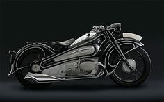 not into motorcycles... but this is one heck of a old school BMW