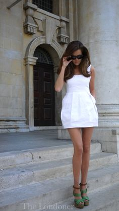 Little white dress