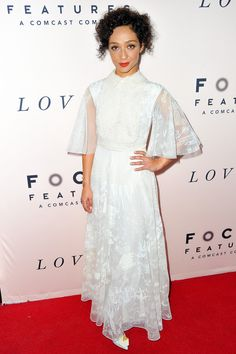 Ruth Negga - WHAT: Valentino, Nicholas Kirkwood shoes WHERE: At the premiere of Loving, Beverly Hills WHEN: October 20, 2016