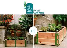 When my make-shift pallet-garden box falls apart, I would like to build something like this.