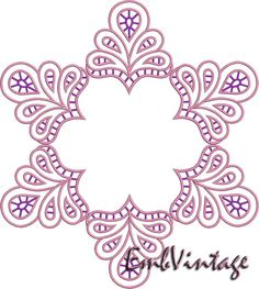 INSTANT Download Machine Embroidery Design Cutwork by embvintage