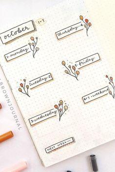 20 idées de calligraphies pour les titres dans votre Bullet Journal - Lisly s world