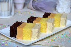 Prajitura cu caramel si nuci | MiremircMiremirc Creme Caramel, Cake Fillings, Macarons, Cornbread, Nutella, Cake Recipes, Biscuits, Food And Drink, Ice Cream