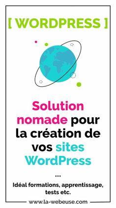 life : un site Web temporaire pour vos formations WordPress ! Wordpress, Seo Tutorial, Web Design, Solution, Search Engine Optimization, Blog, Activities, Life, Design Web