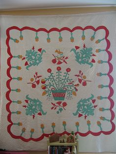 1860's quilt, via Flickr.