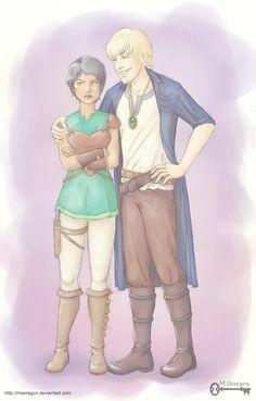 Seven Realms: Raisa and Han by mseregon on deviantART