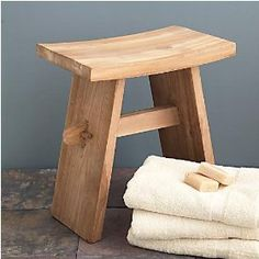 Bathroom seating is not what it used to be. You can purchase seating that is functional but it does not have to be the white plastic chairs. Bathroom Seat, Master Bathroom, Bathroom Stools, Shower Chair, Shower Benches, White Plastic Chairs, Bespoke Furniture, Bath Time, Tinkerbell