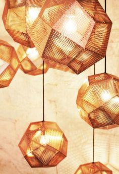 Etch Web Light Copper