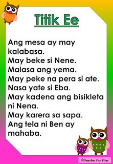 Practice reading Filipino stories through these short Tagalog reading passages for kids from kinder to grade one. These FREE Reading mater. Reading Comprehension For Kids, Phonics Reading, Reading Passages, Kindergarten Reading, Kids Reading, English Worksheets For Kindergarten, 1st Grade Worksheets, Reading Worksheets, Worksheets For Kids