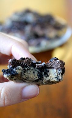 Peanut Butter Cookies & Cream Bark - Recipe.  Sometimes a girl just needs peanut butter. And Oreos. And chocolate. And a few sprinkles. Allll at the same time.