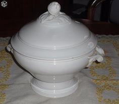 Soupiere ancienne en porcelaine blanche Arts de la table Aude - leboncoin.fr