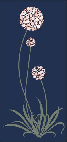 cute chives!  stencils stensils and stencles