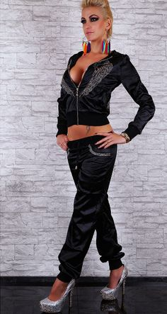 Rebelvision - SEXY FULL BLACK TRACKSUIT FAMOUS REDIAL , $69.99 (http://www.rebelvisiononline.com/sexy-full-black-tracksuit-famous-redial/)