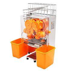 OrangeA Orange Juicer Orange Squeezer Machine Citrus Juicer Electric Fruit Juicer Machine Citrus Lemon Lime Automatic Auto Feed Commercial Stainless Steel Orange Plastic Tanks *** Visit the image link more details.