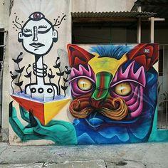 Obra de @obergw e @nate.marcal • Jardim Maristela - São Paulo • #sampagraffiti #streetart #graffiti