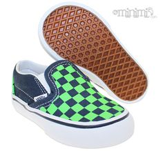 new style 0b596 4d9d7 Vans Classic Slip-On - Baskets Enfant (Toddler) - Bleu et Vert