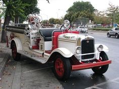 1930 GMC-American LaFrance Triple Combination fire engine....