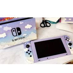 Clouds In The Sky Nintendo Switch Skin Gamer Console Joycon