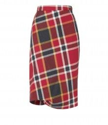 c637cde87 Red Tartan Accident Skirt Tartan Plaid, Eclectic Style, Designing Women, Vivienne  Westwood,