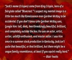 """C.L. Francisco/Blair Yeatts talking about """"This Madness of the Heart's"""" romantic lead, Jack Crispen"""