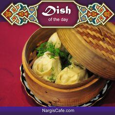 Manty, Turkish or Central Asian dumplings. Yum! www.nargiscafe.com