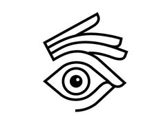 Image result for simple eye logo