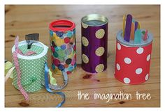 Oi gente!!!     Vou postar mais algumas dicas para trabalhar com reciclagem de materiais, esta para os professores de maternal e berçário. ...