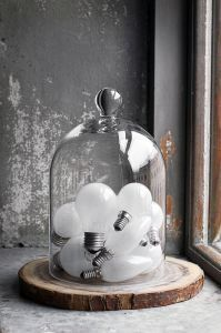 Still life of light bulbs from design and decoration design ideas interior design interior design The Bell Jar, Bell Jars, Lampe Industrial, Modern Industrial, Industrial Design, Deco Originale, Blog Deco, Home And Deco, Glass Domes