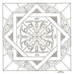 Kleurplaten Keltische Mandala.17 Beste Afbeeldingen Van Keltische Mandala S Celtic Art Mandalas
