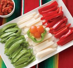 edible flag of mexico