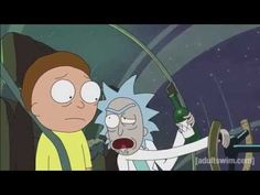 "Rick and Morty ""It's a figure of speech, Morty.They're bureaucrats, I don't respect them."""