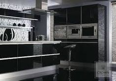 Resultado de imagem para kitchen black