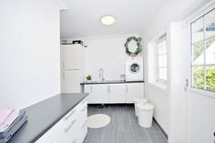 White laundry - clean and fancy