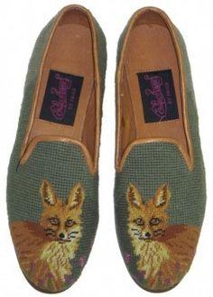needlepoint loafers aaahhhh
