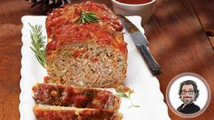 This Mega meatloaf recipe from Christian Bégin is a definite must try! Dairy Free Recipes, Gluten Free, Confort Food, Christian Bégin, Meat Lovers, Meatloaf Recipes, Bon Appetit, Free Food, Pork