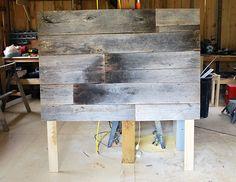 DIY: Barnwood Headboard