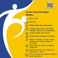 The Ten Commandments of FIFA