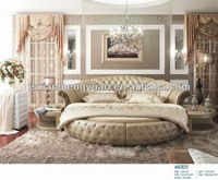Source high quality latest round bed designs A6305 on sale on m.alibaba.com