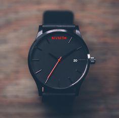 MVMT Black/Black Leather